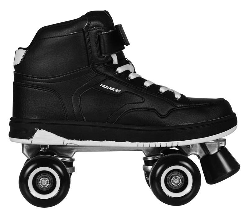 powerslide player quad skates black. Black Bedroom Furniture Sets. Home Design Ideas
