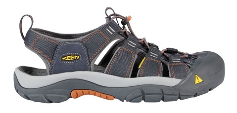 Keen Newport H2 India ink/rust