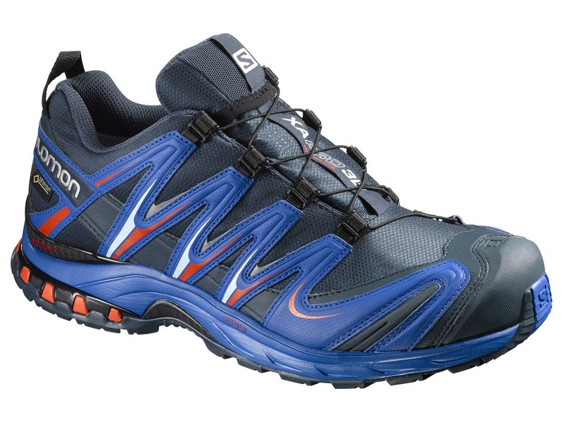 Salomon Xa Pro 3d Gtx Trail running shoes men dark blue · Zoom 37184ea0b06d