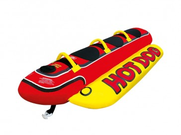 Airhead Towable swimming Hot Dog for 3 people