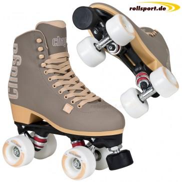Chaya roller skates gray beige