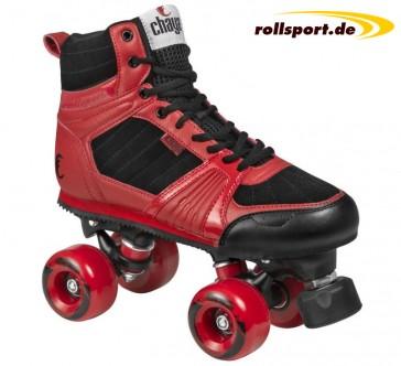 Chaya roller skates black red