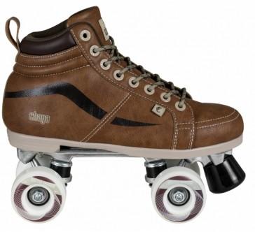 Chaya Vintage Roller skates brown