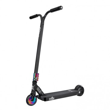 esQu Stunt E-Scooter 36V black/multicolor