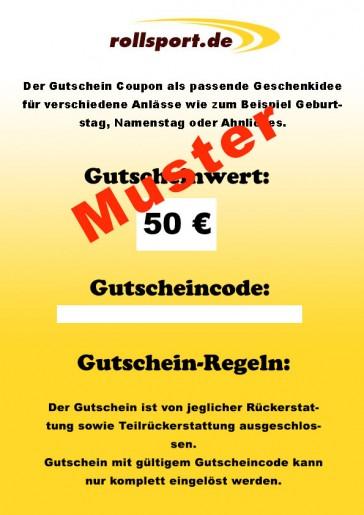 Geschenkgutschein Rollsport.de