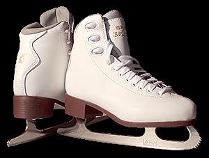 Graf Bolero women figure ice skates