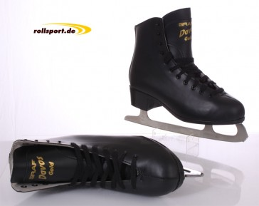 Graf Davos men figure ice skates black