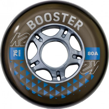 K2 76mm wheels without bearings 4-Pack