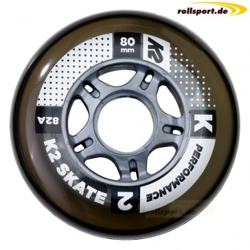 K2 80mm replacement wheels 4 pieces