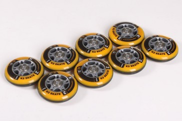 K2 84mm wheels with bearings and spacer