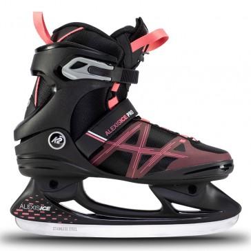 K2 Alexis Ice Pro women ice skates black / pink