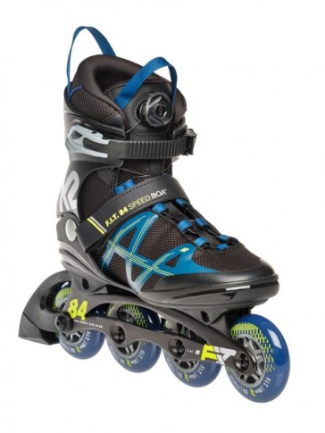K2 Fit 84 Speed Boa black blue yellow