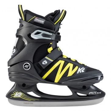 K2 Fit Ice Pro Men's skates black yellow