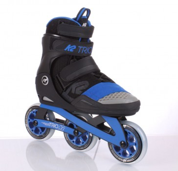 K2 Trio 100 Skates black blue