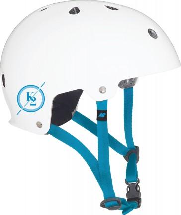 K2 Varsity helmet matt white/blue