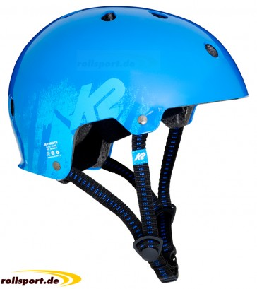 K2 Varsity kids helmet blue