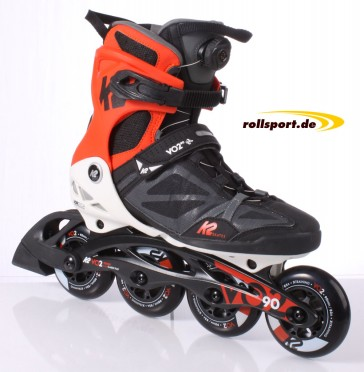 K2 VO2 90 Boa Men black white red