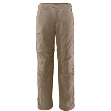 Vaude Farley Zo Pants IV women muddy