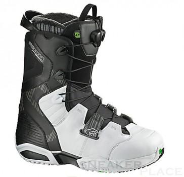 Salomon Synapse snowboard boots black/white