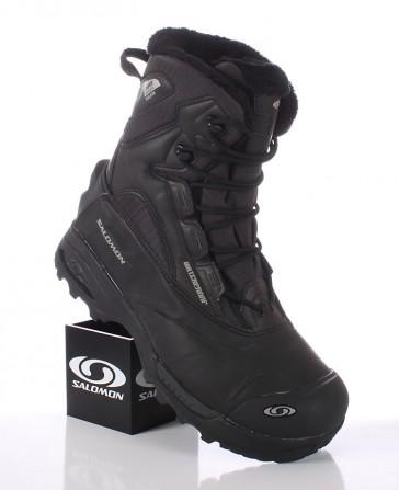 Salomon Toundra mid WP asphalt/black winter shoes