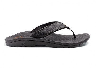 Olukai sandal Ohana Leather black