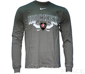 Bauer IIHF Banner L/S long sleeve Men Khaki