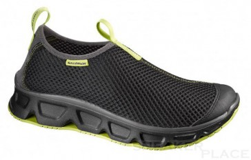 Salomon RX moc black/black/sprout green shoes