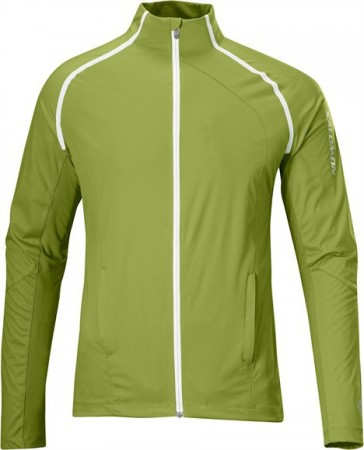 Salomon XT Softshell jacket green/bean Women