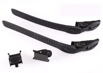 Universal inline skates buckle assembly