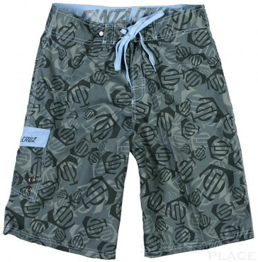 Santa Cruz Chinook trunks charcoal