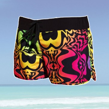 Sun Project trunks women neon