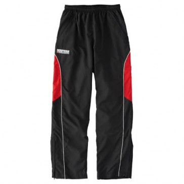 Derby Star Tracksuit pants Primera red / black