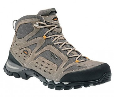 Aku Arriba Mid xcr light gray shoes