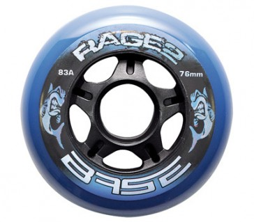 Base Outdoor hockey wheels Rage II 4-pack