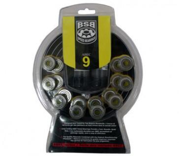 Hyper Kryptonics BSB Abec 9 bearings - 16-pack