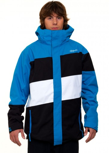 Oxbow Recep snowboard jacket electric blue