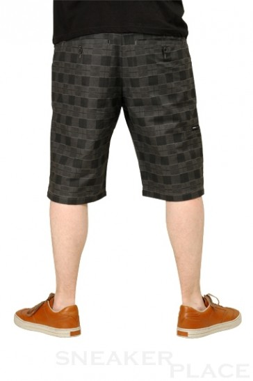 Reell Chino Short Chequered Black Grey