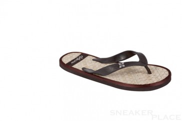 Rubber slippers Oxbow Isemelle Dark Brown.