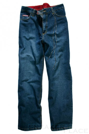 Record Jeans 6-pocket middle blue