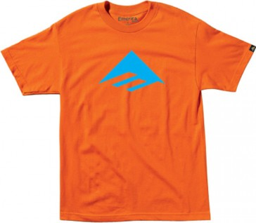 Emerica Youth riangle 7.0 T-Shirt Basic Orange