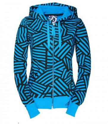 Jeml Zip Hooded Karla Horizon blue