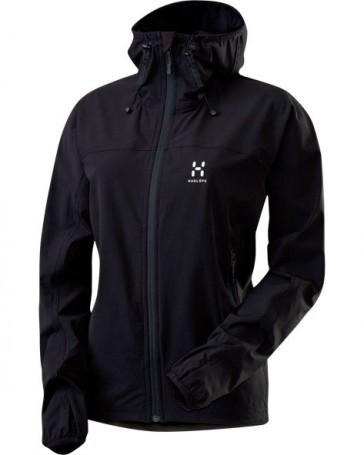 Haglöfs Boa Q Hood women jacket black