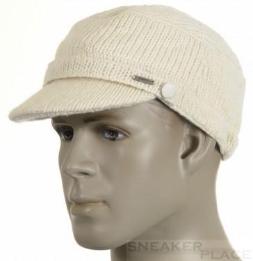 Capo woolen cap handmade cream