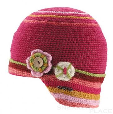 Capo Girls Beanie pink Handmade
