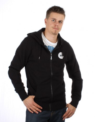 Converse Vintage Patch HD Zip Hooded Black