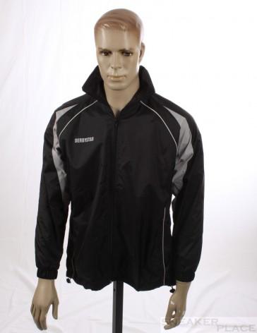 Derby Star Rain Jacket Black / Grey