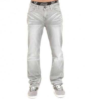 Oxbow Dexter Grey Denim Stretch Jeans