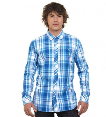 Oxbow Longsleeve Shirt Drum Electric Blue