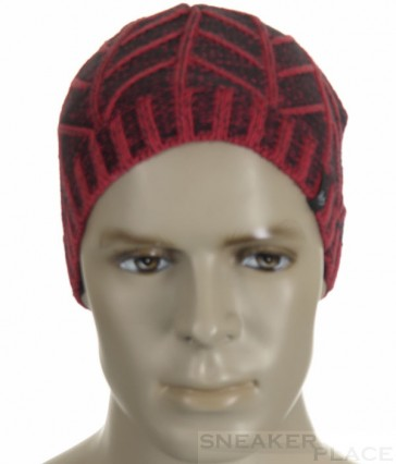ES Beanie Eastend Red cotton