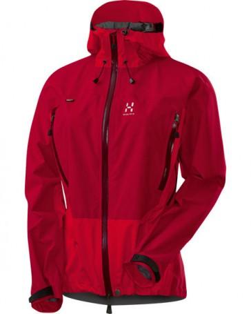 Haglöfs Electron Q jacket women deep red / fire